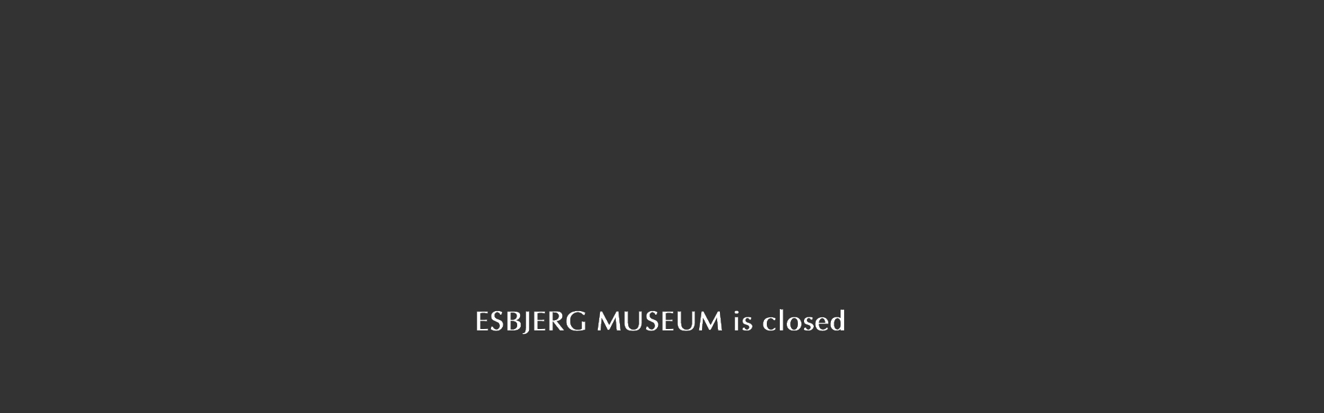 <p>The museum is closed to prevent the spreading of corona virus</p>